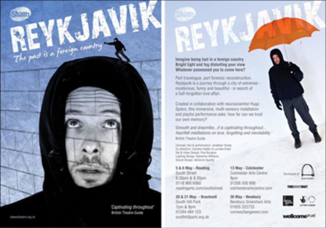 Reykjavik - Shams Theatre, national tour and Edinburgh fringe